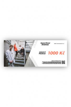 DÁRKOVÝ POUKAZ - 1000KČ