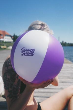 BEACH BALL GARAND - VIOLET